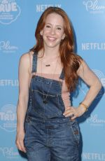 AMY DAVIDSON at True and the Rainbow Kingdom Premiere in Los Angeles 08/10/2017