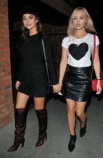 AMY JACKSON and ROXY HORNER at Ego by Ella Eyre Single Launch Party in London 08/15/2017