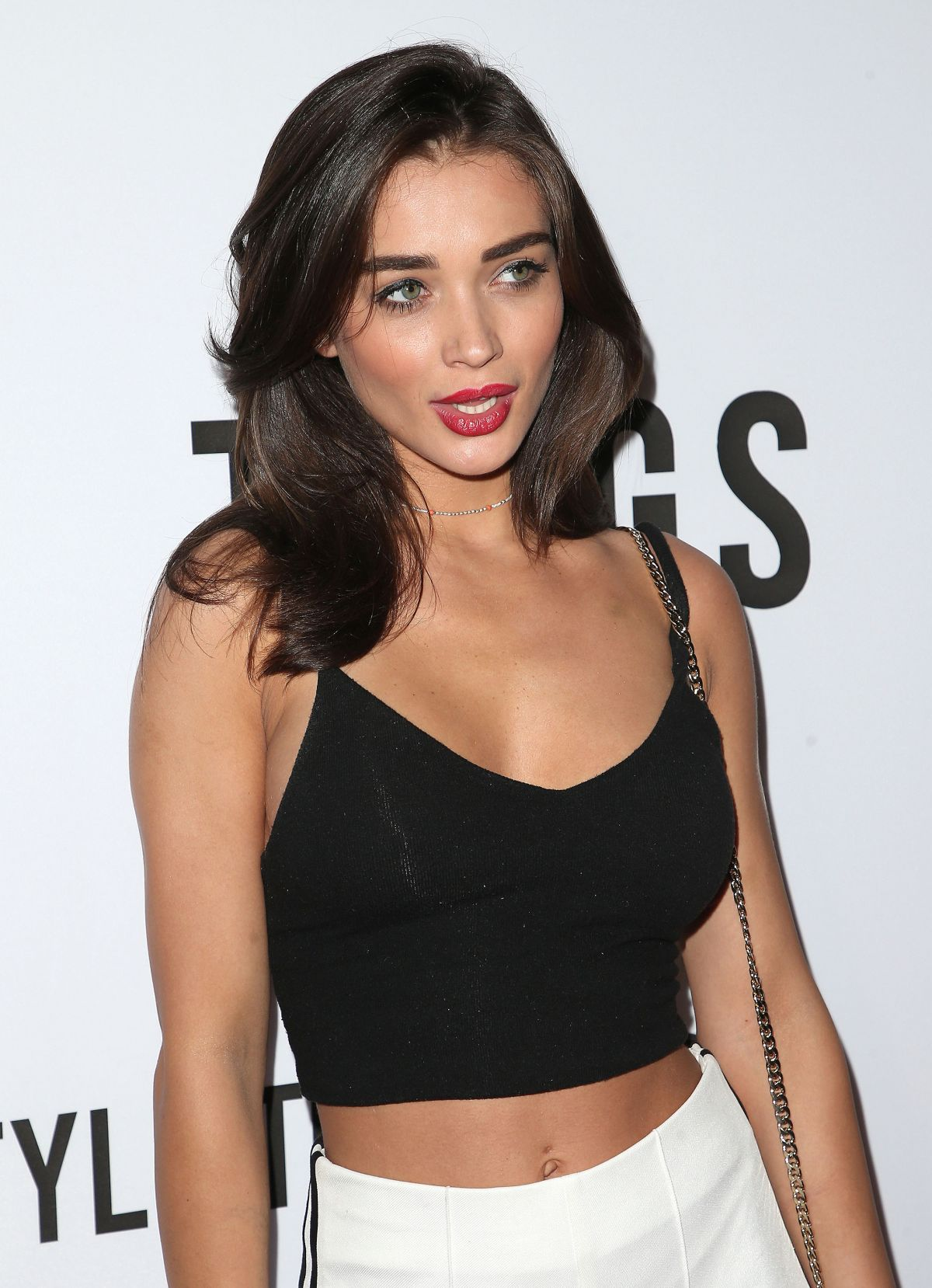 AMY JACKSON at The Tings Secret Party Launch in West Hollywood 08/23/2017