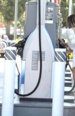ANA BRAGA at a Gas Station in Malibu 07/31/2017