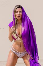 ANA BRAGA on the Set pf a Photoshoot in Los Angeles 08/24/2017