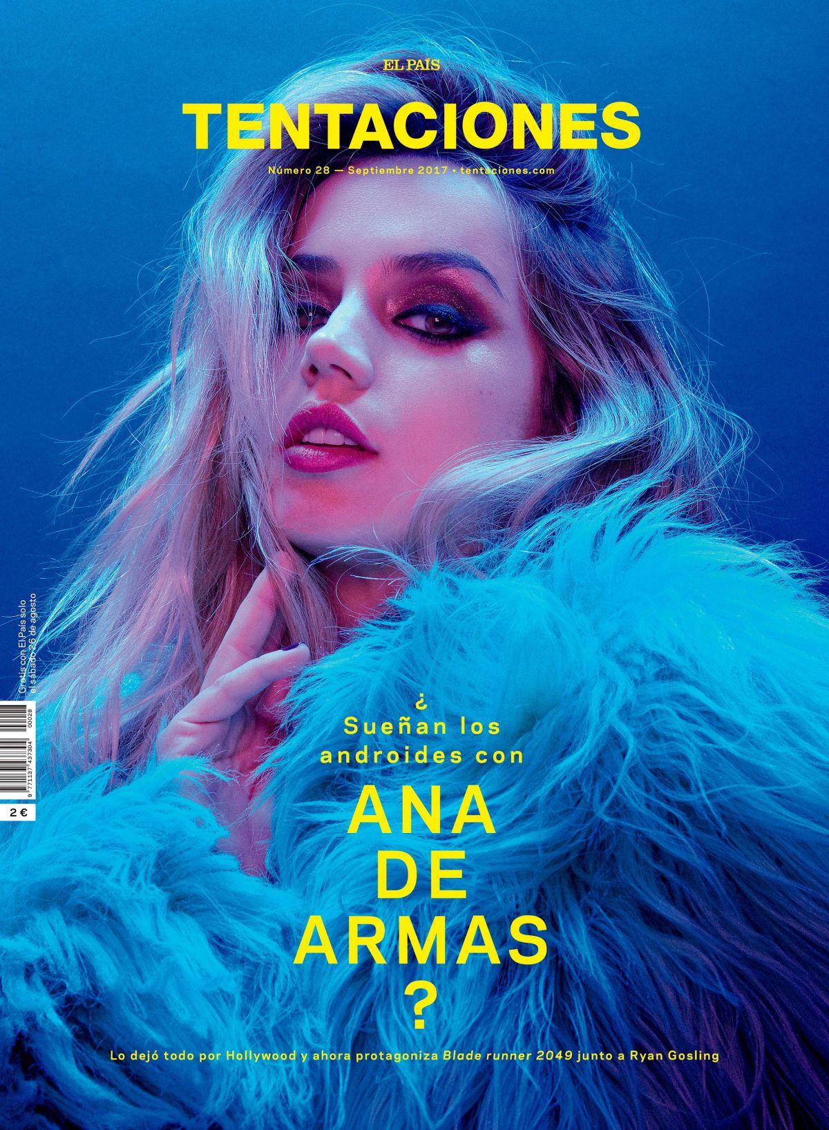 ANA DE ARMAS for Tentaciones Magazine, September 2017