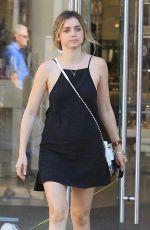 ANA DE ARMAS Shopping at The Grove in Hollywood 08/14/2017