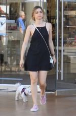 ANA DE ARMAS Shopping at The Grove in Hollywood 08/14/2017