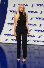 ANASTASIA KARANIKOLAOU at 2017 MTV Video Music Awards in Los Angeles 08/27/2017