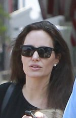 ANGELINA JOLIE at a Candy Store in Los Angeles 08/16/2017