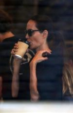 ANGELINA JOLIE Out for Lunch in Los Angeles 08/27/2017