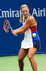 ANGELIQUE KERBER at Arthur Ashe Presents Kids Day at US Open in New York 08/26/2017