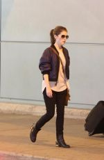 ANNA KENDRICK Arrives at Airport in Toronto 08/21/2017