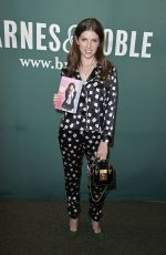 ANNA KENDRICK at  Barnes and Noble in Union Square in New York 08/19/2017