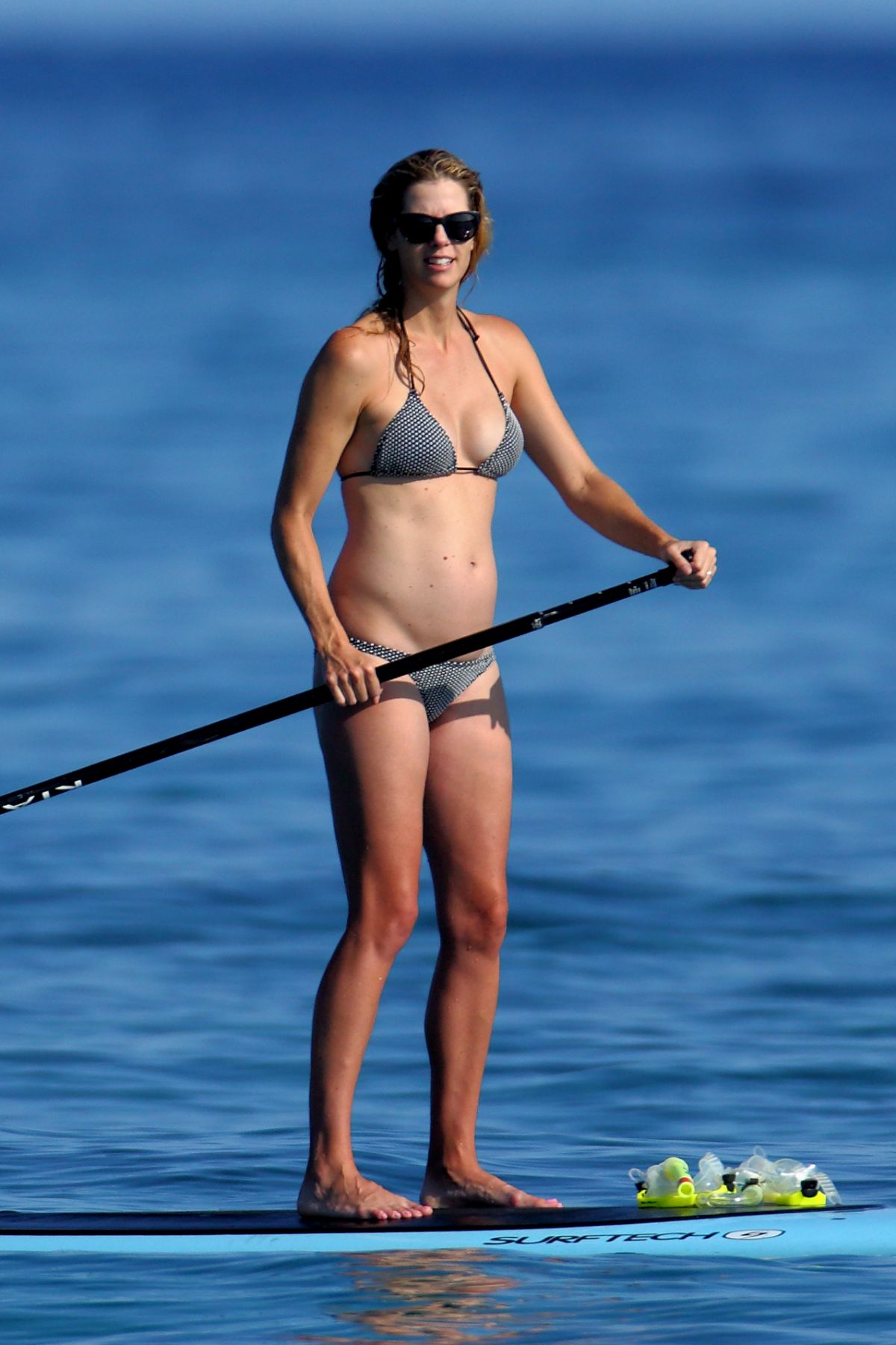 ANNA RAWSON in Bikini Paddle Board in Hawaii 08/08/2017