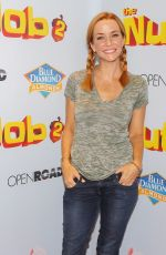 ANNIE WERSCHING at The Nut Job 2: Nutty by Nature Premiere in Los Angeles 08/05/2017