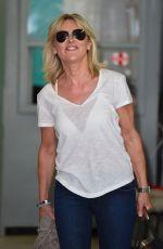 ANTHEA TURNER at ITV Studio in London 08/15/2017