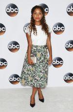 ANTONIA THOMAS at Disney/ABC TCA Summer Tour in Beverly Hills 08/06/2017