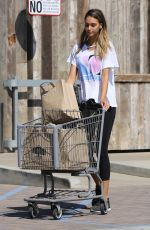 APRIL LOVE GEARY Out for Grocery Shopping in Malibu 08/28/2017