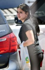 ARIEL WINTER at a Beauty Salon in North Hollywood 08/08/2017