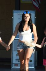 ARIEL WINTER in Daisy Dukes Out Shopping in Los Angeles 08/18/2017