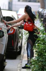 ARIEL WINTER in Tights Leaves a Gym in Studio City 08/28/2017