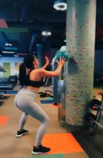 ARIEL WINTER Working Out at MackFit Gym in Los Angeles 08/07/2017