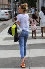 ARIELLE VANDENBERG Out Shopping in Beverly Hills 08/01/2017