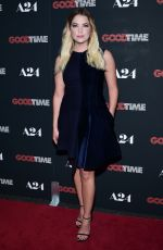 ASHLEY BENSON at Good Time Premiere in New York 08/08/2017