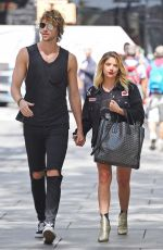 ASHLEY BENSON Out and About in New York 08/16/2017
