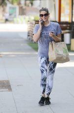 ASHLEY GREENE Leves a Gym in West Hollywood 08/22/2017