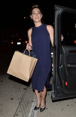 ASHLEY GREENE Out for Dinner in West Hollywood 08/22/2017
