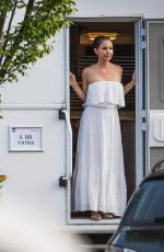 ASHLEY JUDD at a Shooting Break at Berlin Sation Set 08/23/2017
