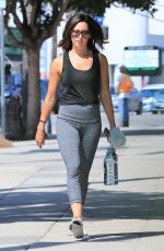 ASHLEY TISDALE Heading to a Gym in Studio City 08/04/2017