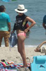 ASHLEY TISDALE in Bikini Bottom at a Beach in malibu 08/05/2017