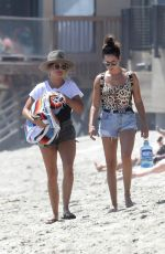 ASHLEY TISDALE in Swimsuit at a Beach in Malibu 08/20/2017