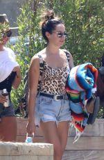 ASHLEY TISDALE Leaves Soho House in Malibu 08/20/2017