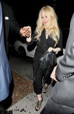 AVRIL LAVIGNE Leaves Peppermint Club in West Hollywood 08/07/2017