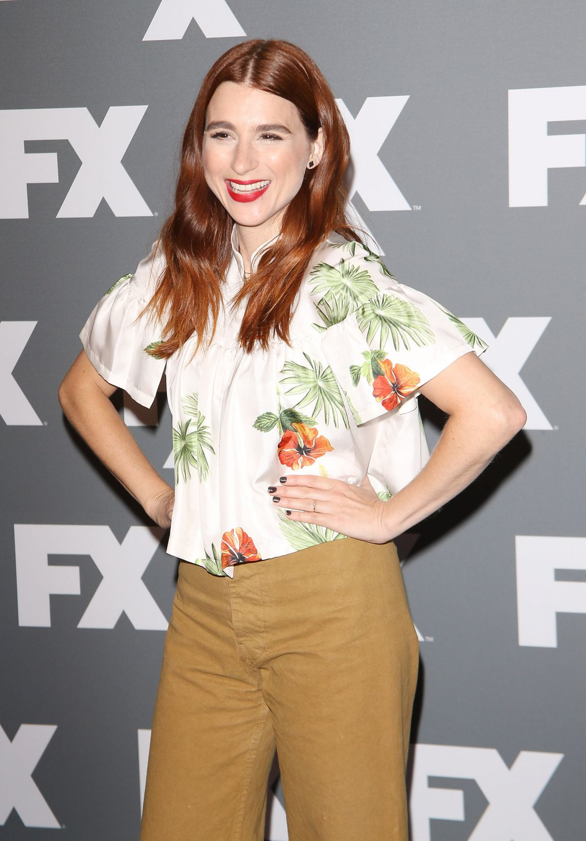 AYA CASH at FX TCA Summer Tour in Los Angeles 08/09/2017