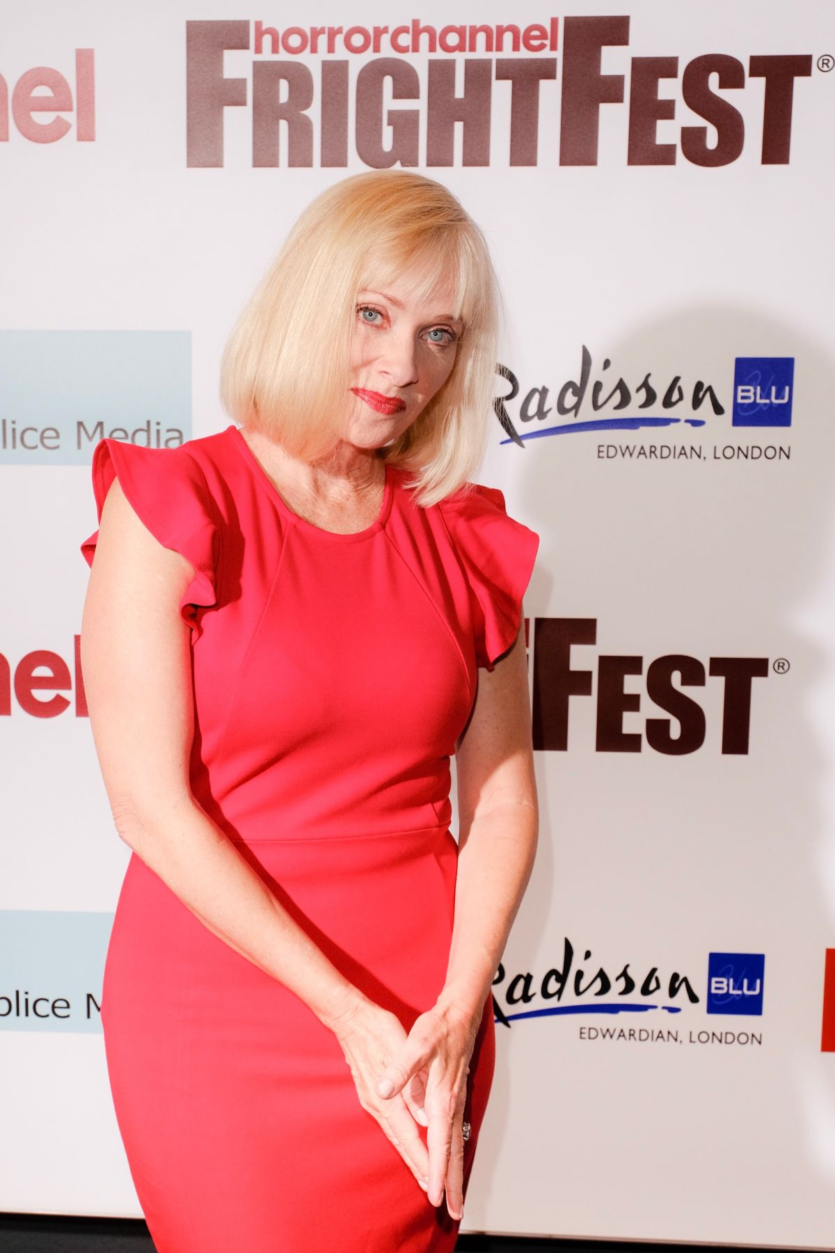 BARBARA CRAMPTON at Replace Premiere in London 08/27/2017