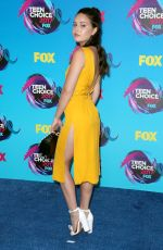 BEA MILLER at Teen Choice Awards 2017 in Los Angeles 08/13/2017