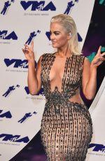 BEBE REXHA at 2017 MTV Video Music Awards in Los Angeles 08/27/2017