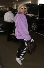 BEBE REXHA at LAX Airport in Los Angeles 08/25/2017