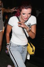 BELLA and DANI THORNE Leaves Avalon Club in Hollywood 08/11/2017
