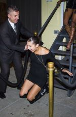 BELLA HADID Falling Down o Stairs at Cipriani in New York 08/02/2017