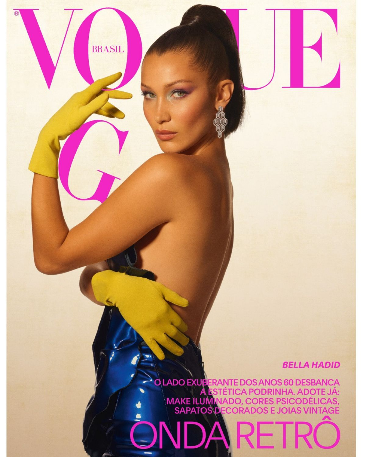 BELLA HADID for Vogue Magazine, Brazil September 2017