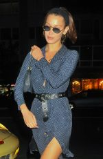 BELLA HADID Night Out in New York 08/03/2017