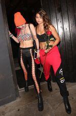 BELLA THORNE Leaves Avenue Nightclub in Hollywood 08/09/2017