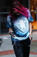 BELLA THORNE Out and About in Los Angeles 08/22/2017