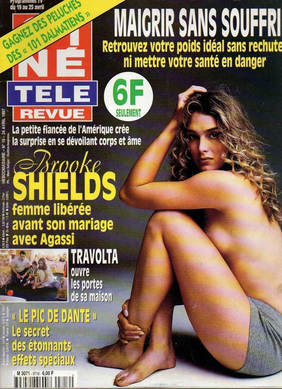 Best from the Past - BROOKE SHUELDS in Cine Tele Revue, April 1997