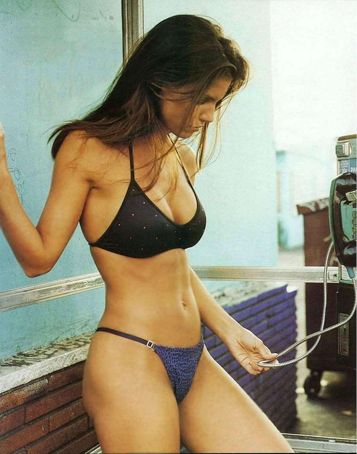 Best from the Past - CHARISMA CARPENTER in Bikini, Magazine Scans 1999