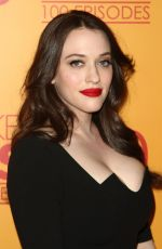 BETH BEHRS and KAT DENNINGS at 2 Broke Girls 100th Episode Celebration in Los Angeles 08/21/2017