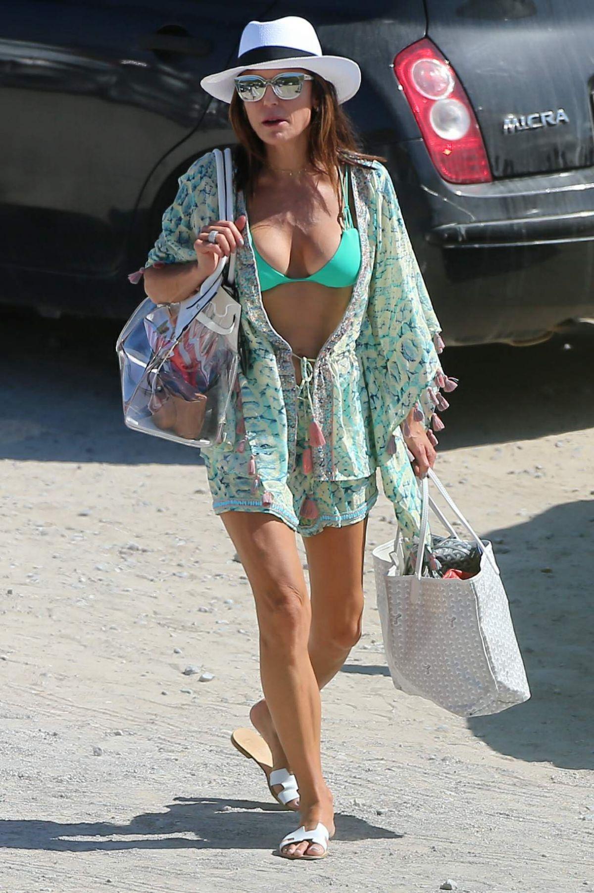 BETHENNY FRANKEL in Bikini Top Out in Ibiza 08/23/2017