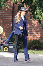 BLAKE LIVELY and ANNA KENDRICK on the Set of A Simple Favor in Toronto 08/25/2017